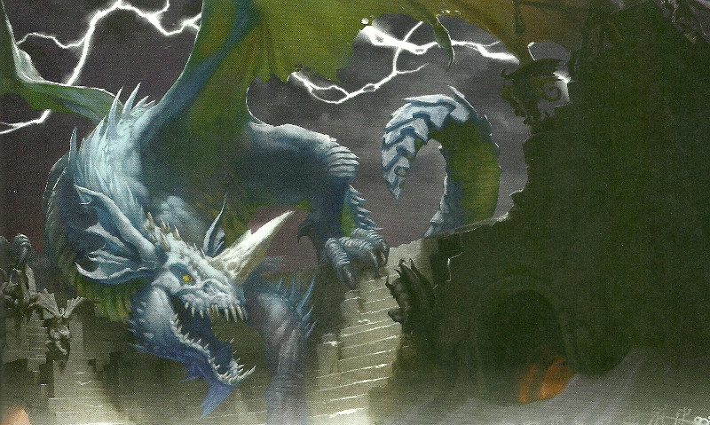 Blue Dragon Dd: D&D Storm King's Thunder Review