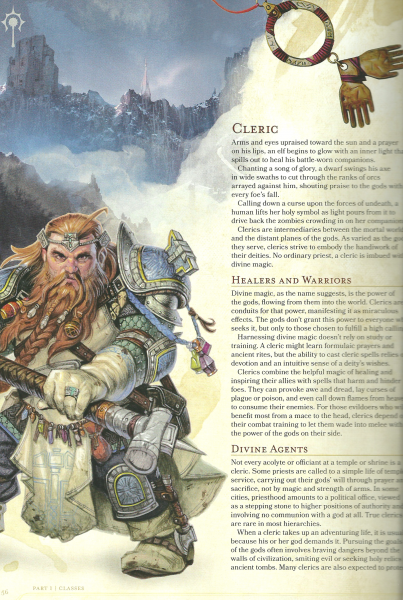 Dungeons & Dragons 5th Edition Players Handbook first look