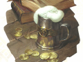 D&D_Tales_from_the_Yawning_Portal_title_page_mug_of_ale_and_coins